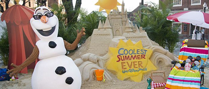 Sand Castle in the Snow Announces 24-Hour Event To Kick Off 'Coolest Summer Ever' at Walt Disney World Resort