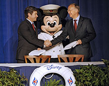 Contract Signed to Build Two New Disney Cruise Line Ships