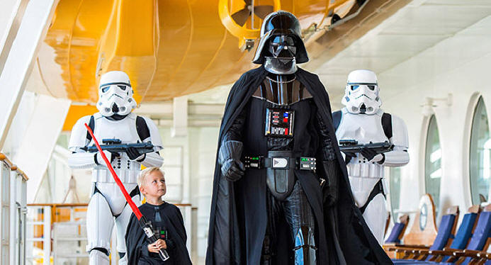 Star Wars Days At Sea onthe Disney Cruise Line