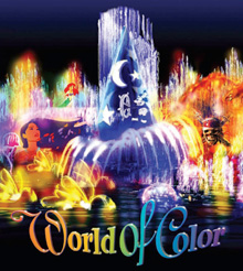 "Lights, water, music, fire and animation will come together like never before on June 11, 2010, when ""World of Color"" makes its dazzling debut at Disney's California Adventure® Park."