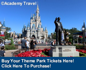 Get Your Disney Park Ticket Here from Academy Travel