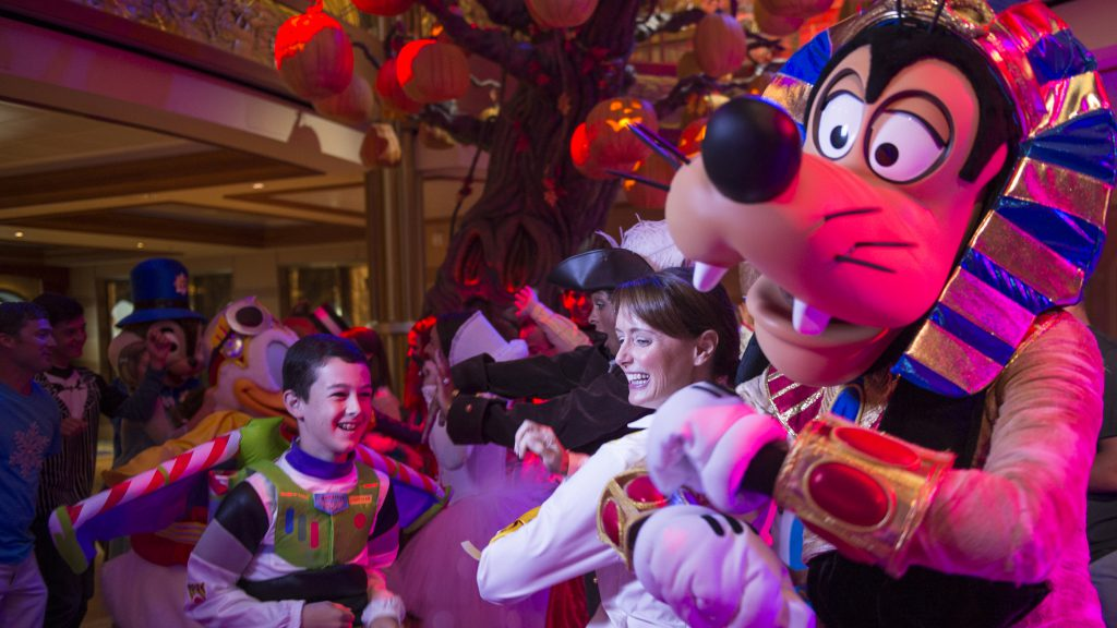 Nightmare Before Christmas on the Disney Cruise Line
