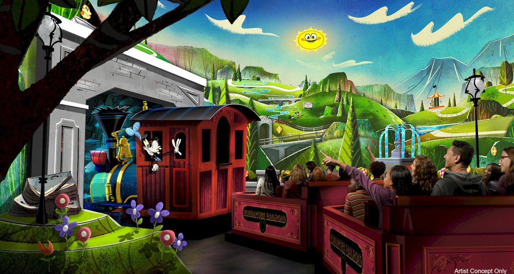 Mickey and Minnie's Runaway Railway – Opening Spring 2020!