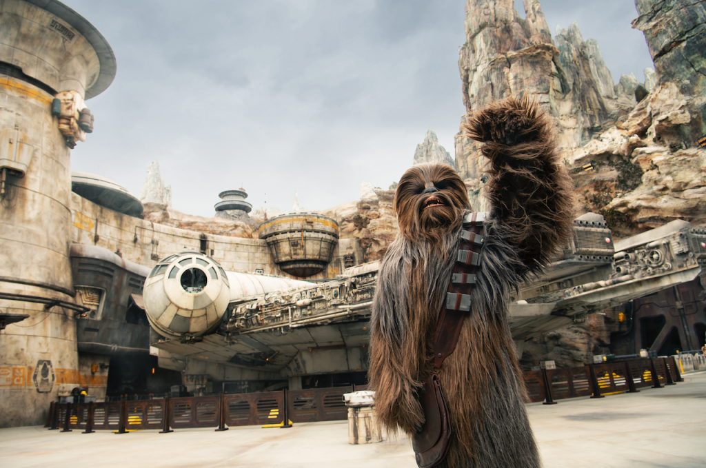 Encounter the First Order and Heroes of the Resistance During Your Visit to Star Wars: Galaxy's Edge
