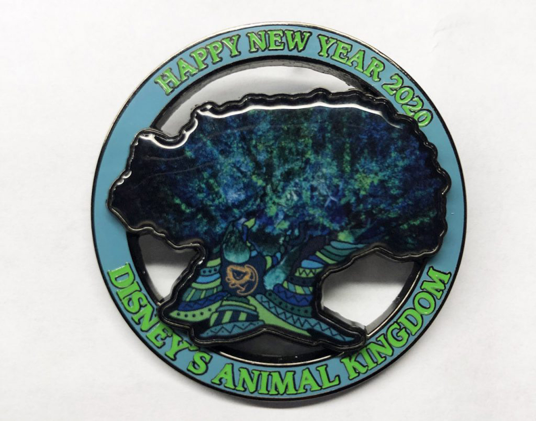 Disney's Animal Kingdom will also be offering a 2020 commemorative pin – a Limited Edition New Year's Day Pin